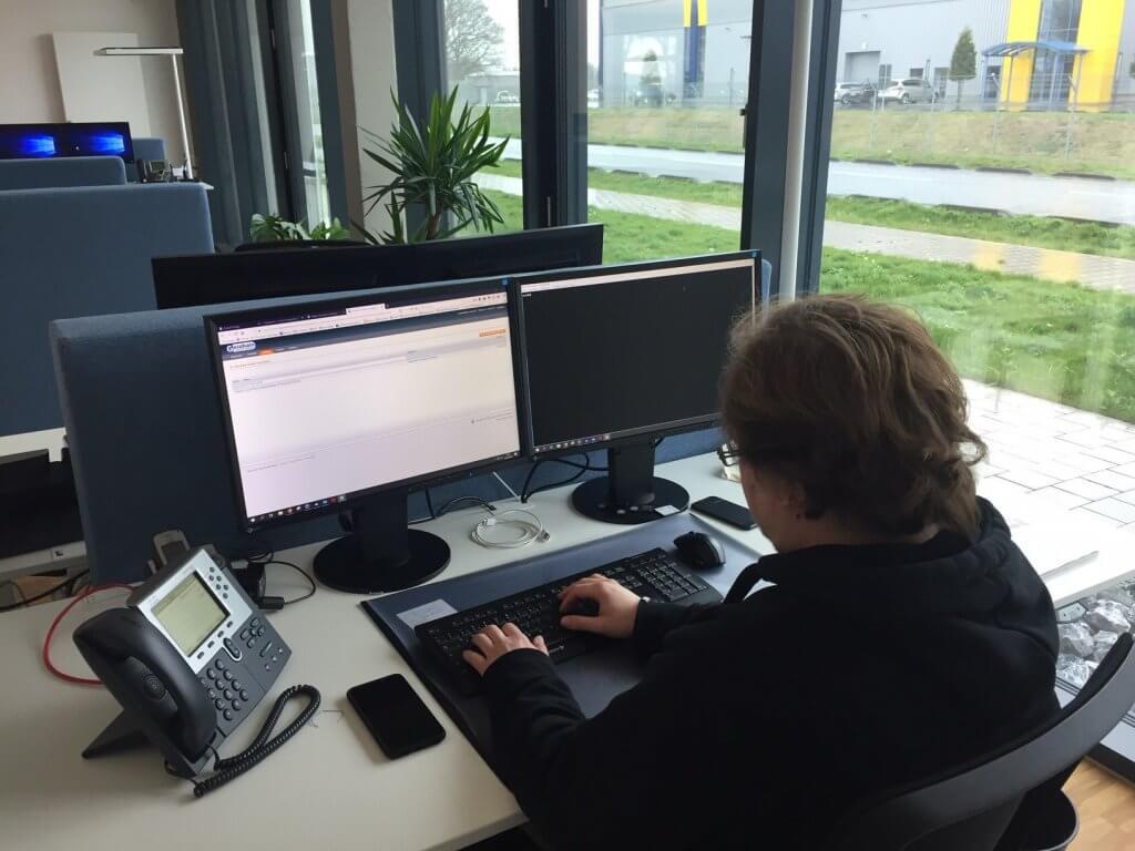 Arbeit am PC