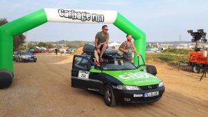 Carbage Run - Globus Checker Team